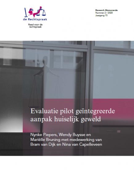 Evaluatie pilot geïntegreerde aanpak huiselijk geweld